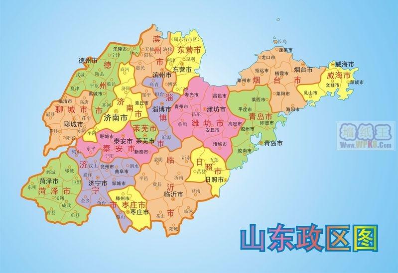 青州市详细地图