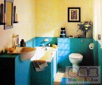 田园色彩卫浴空间设计