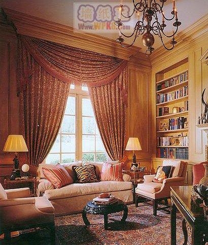 而不少别墅在装潢设计上却青睐于欧式宫廷风格高贵典雅的复古奢华之风