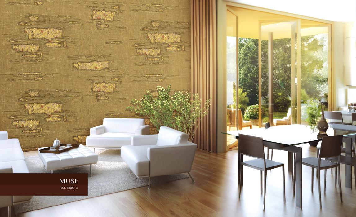 墙纸装修效果图   简欧风格客厅墙纸图片大全   客厅墙面壁