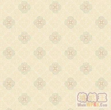 中式古典花纹菱形祥云