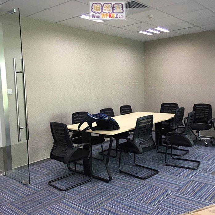 上海浦东陆家嘴未来资产大厦办公室装修用无缝墙纸02