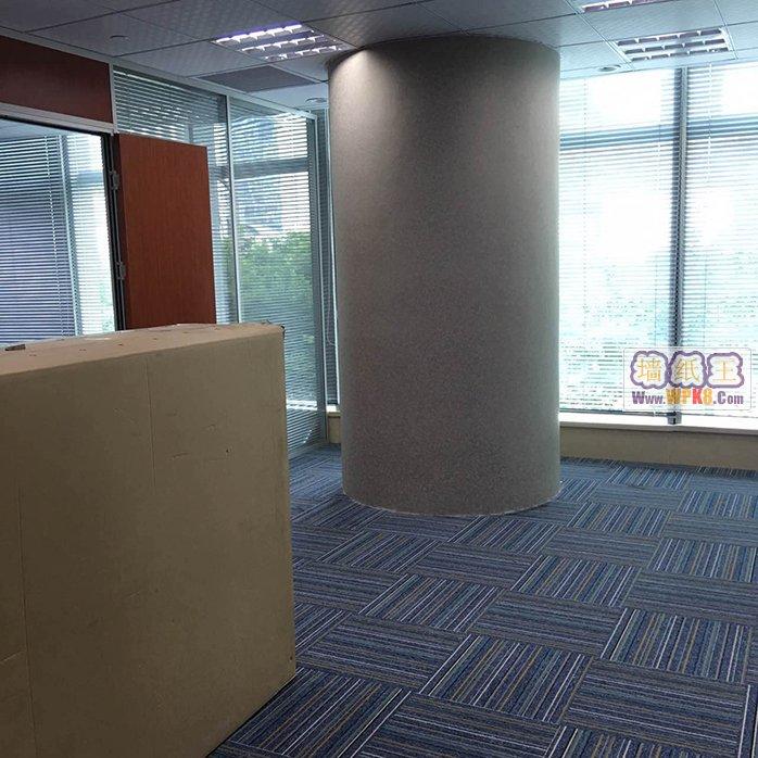 上海浦东陆家嘴未来资产大厦办公室装修用无缝墙纸03