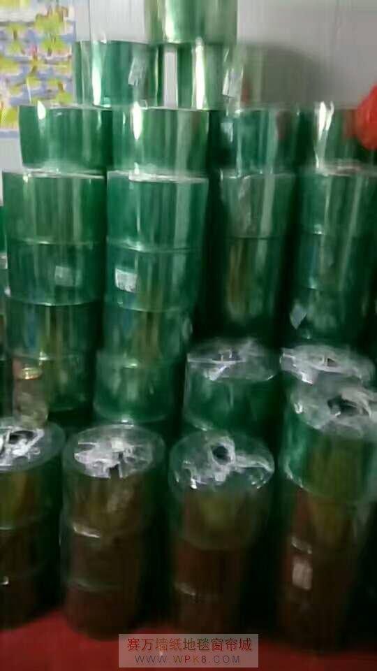 上海青浦九星市场2幢2楼201号批发专卖各种透明软门帘06