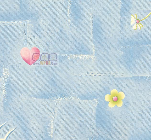 19张精美的小孩房墙壁纸(4)4_墙纸王-漂亮壁纸【墙纸